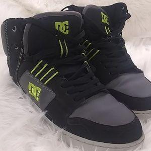 Men's DC SKATE shoes 13  leather upper